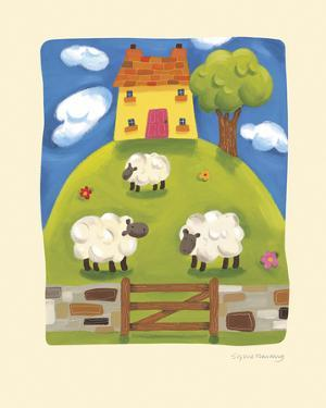 Yellow Farmhouse by Sophie Harding