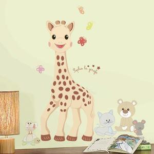 Sophie La Giraffe Peel And Stick Giant Wall Decals