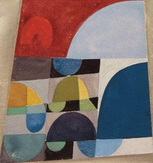 Untitled, 1920 by Sophie Taeuber-Arp