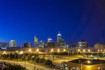 Indianapolis Downtown, Indiana, Usa by Sopotniccy