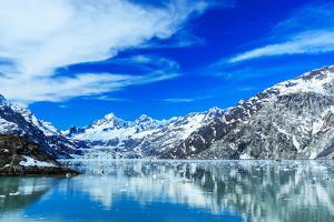 Panoramic View of Glacier Bay National Park. Alaska by sorincolac