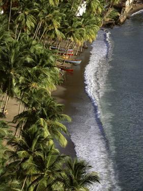 Soufriere Beach, St. Lucia