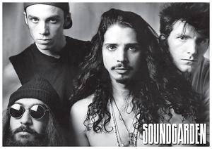 Soundgarden - B/W Group w/ Chris Cornel