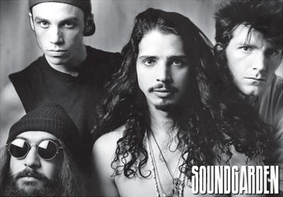 Soundgarden - B/W Group w/ Chris Cornel