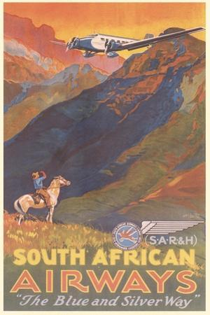 South African Airways Poster