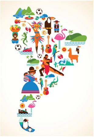 South America Love
