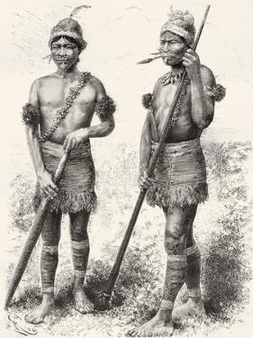 South American Carijona Indians