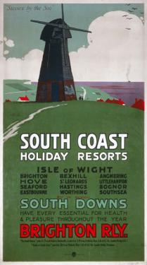 South Coast Holiday Resorts, LBSCR, c.1915