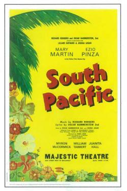 South Pacific - Broadway Poster , 1949