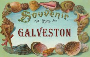 Souvenir from Galveston, Texas