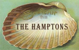 Souvenir from the Hamptons, Long Island, New York