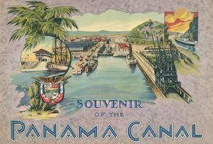 Souvenir of the Panama Canal