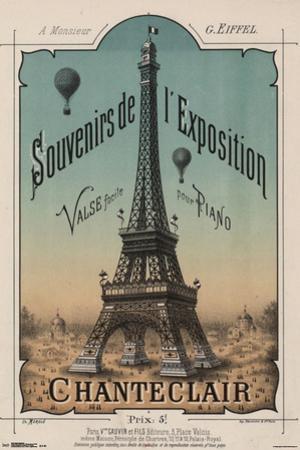 Souvenirse De L' Exposition Chanteclair