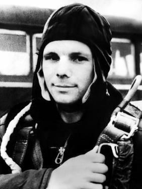 Soviet Astronaut, Yuri Gagarin. 1961