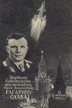 Soviet Cosmonaut Yuri Gagarin, 1961