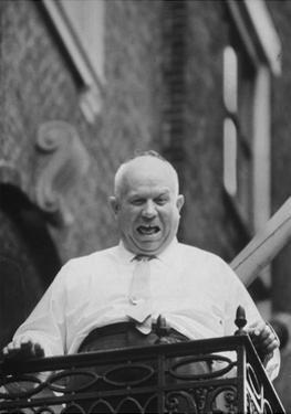Soviet Leader Nikita Khrushchev in New York, USA, September 1960