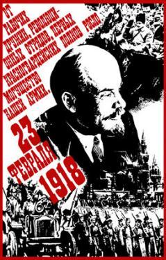 Soviet Lenin Revolution Propaganda