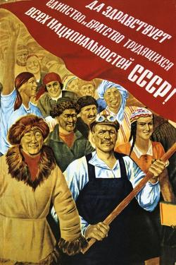 Soviet Political Poster, 1934