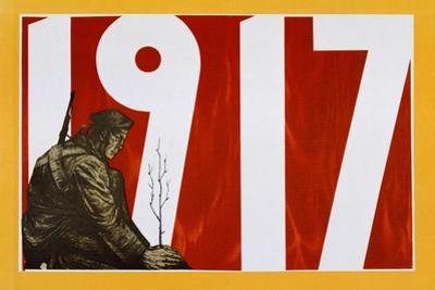 Soviet Propaganda Poster, 1917