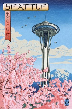 https://imgc.allpostersimages.com/img/posters/space-needle-cherry-blossoms-woodblock-seattle-washington_u-L-Q1GQO9S0.jpg?p=0