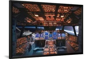 Space Shuttle Cockpit Columbia