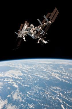 Space Shuttle Endeavor Docked at International Space Station 2