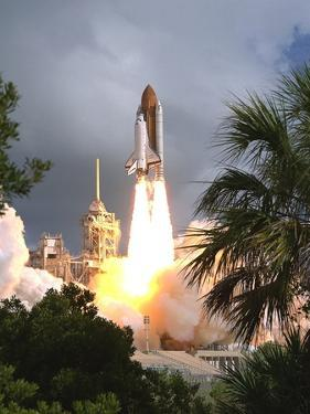 Space Shuttle Endeavour Launch Was the 57th Space Shuttle Mission, June 21,1993