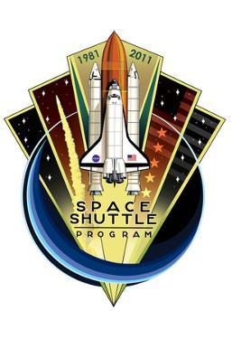 Space Shuttle Program 30th Anniversary 1981-2011 Poster