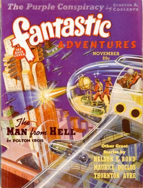 Spaceship Attacks City