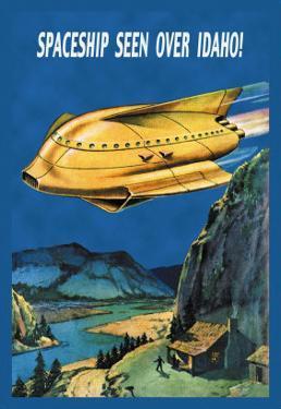 Spaceship Seen over Idaho!