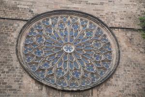 Spain, Barcelona, Church of Santa Maria Del Pi
