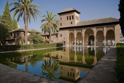 Spain, Granada, Alhambra, the Partal