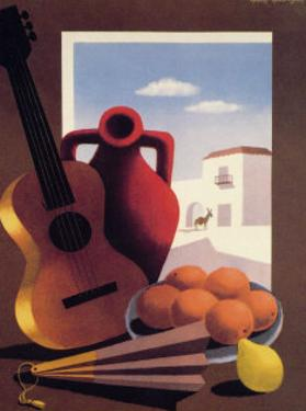 Spain: Guitar and Oranges