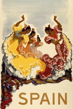 Spain - Women Dancing