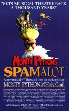 Spamalot - Broadway Poster