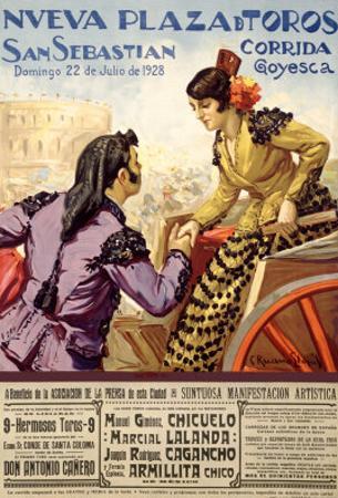 Spanish Bullfight, 1928