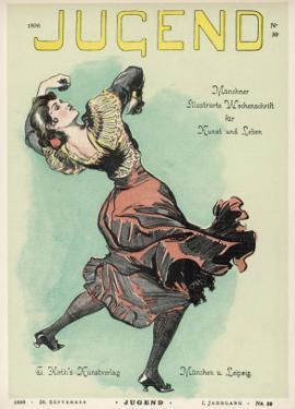 Spanish Dancer in a Bold Pose