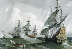 Spanish Galleons and Vessels (17th C)