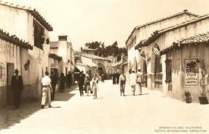 Spanish Village, Balboa Park, San Diego, California
