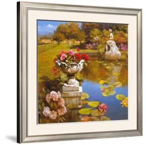 Water Garden II by Spartaco Lombardo