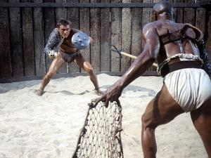 Spartacus by Stanley Kubrick with Kirk Douglas, 1960 (photo)