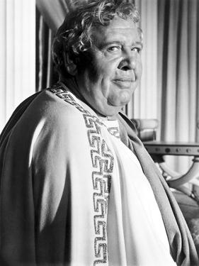 Spartacus by Stanley Kubrik with Charles Laughton, 1960 (b/w photo)