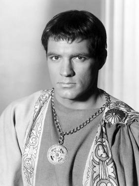 Spartacus by Stanley Kubrik with John Gav 1960 (b/w photo)