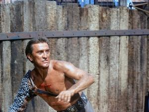 Spartacus by Stanley Kubrik with Kirk Douglas, 1960 (photo)