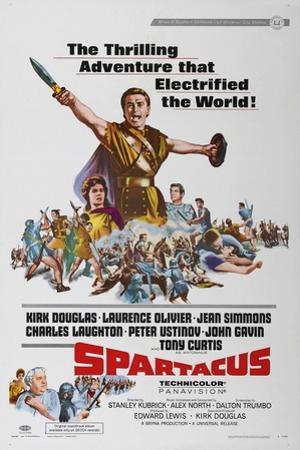 "Spartacus: Rebel Against Rome, 1960 ""Spartacus"" Directed by Stanley Kubrick"