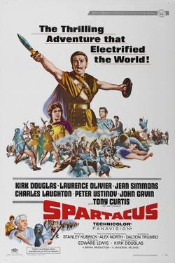 "Spartacus: Rebel Against Rome, 1960 ""Spartacus"" Directed by Stanley Kubrick"