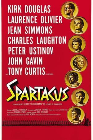 "Spartacus: Rebel Against Rome, 1960, ""Spartacus"" Directed by Stanley Kubrick"