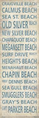 Cape Cod Beach Towns I by Sparx Studio
