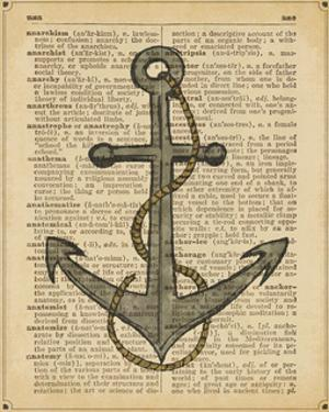 Nautical Series - Anchor by Sparx Studio