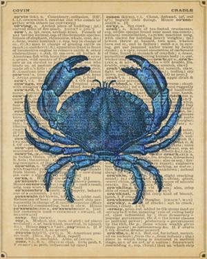 Vintage Crab by Sparx Studio